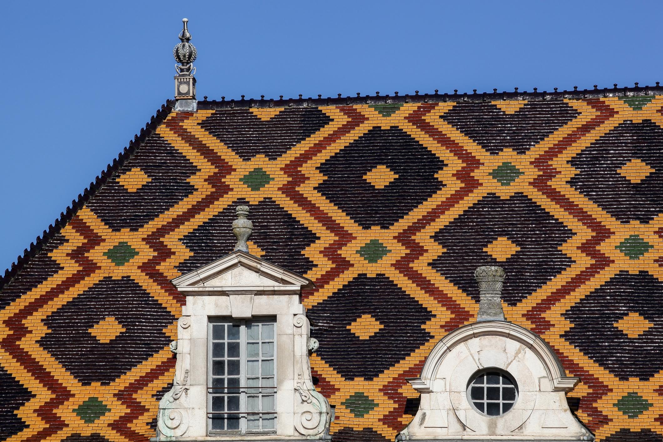 Beaune rooftop tiles