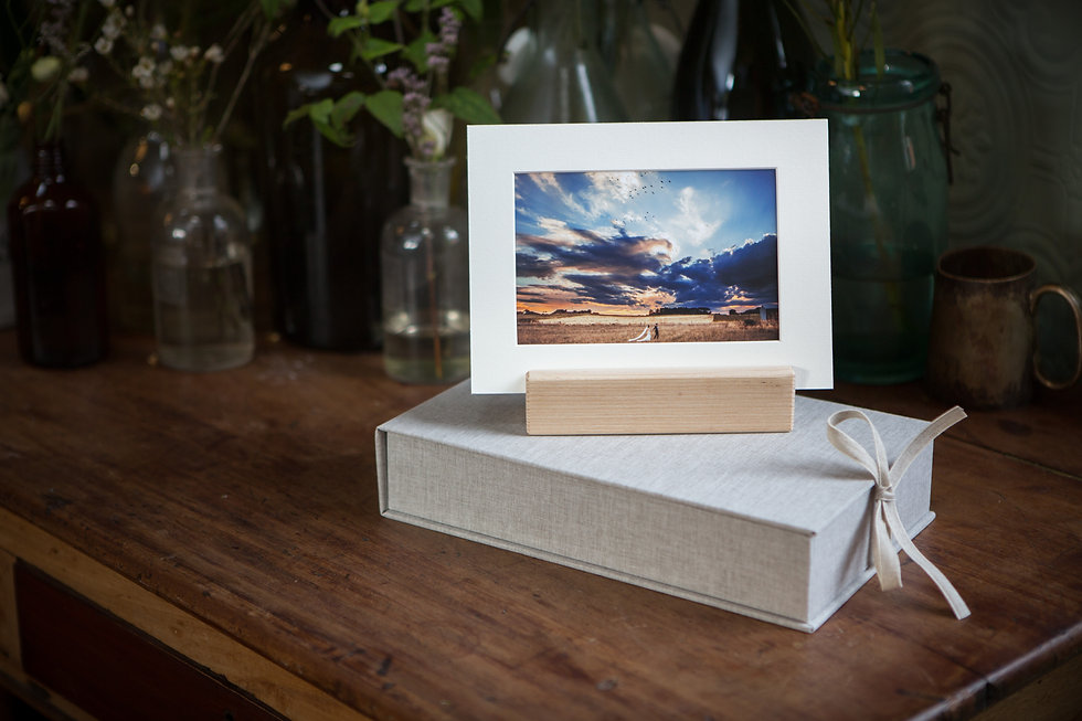 mounted prints with box