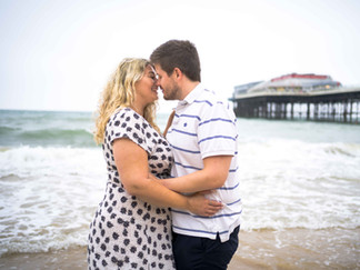 Cromer Beach Engagement shoot in Norfolk - Craig Greenwood Photography