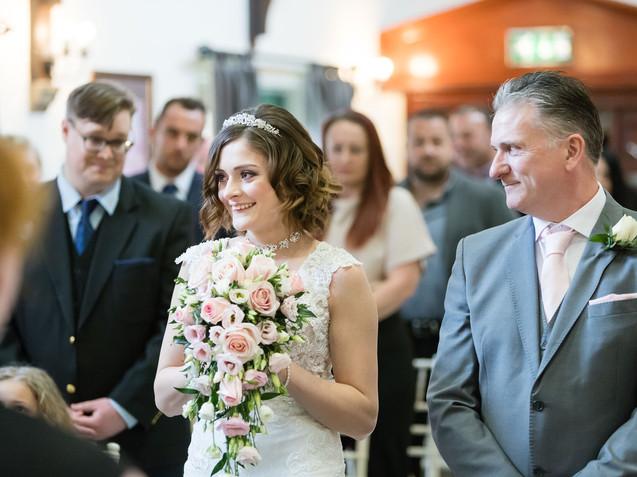Dunston hall wedding