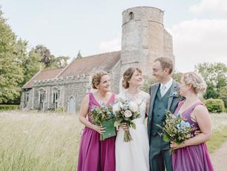Beyton church wedding