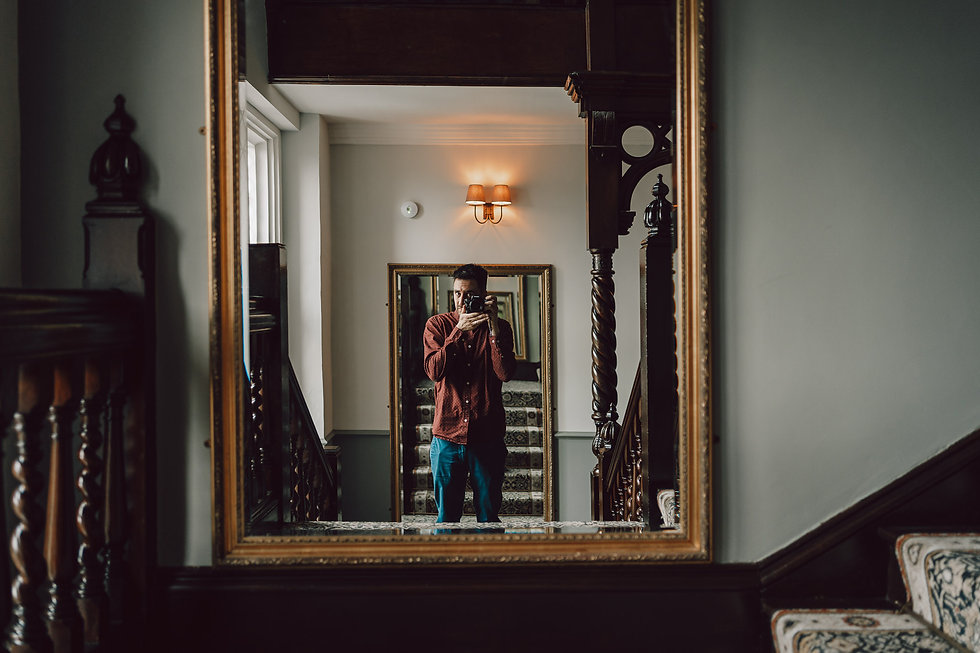 Craig Greenwood photography selfie
