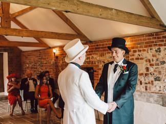 Christopher & James Hautbois hall wedding
