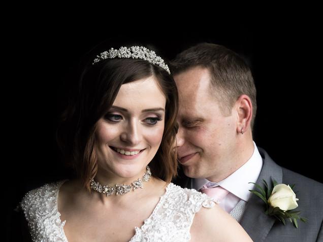 Dunston hall wedding in norwich norfolk bride and groom