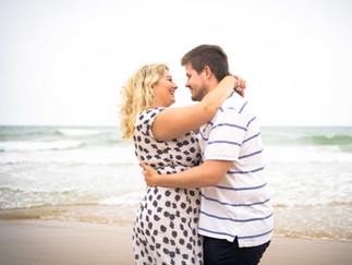 Cromer Beach Engagement shoot in Norfolk- Craig Greenwood Photography