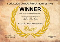Balole, the golden wolf