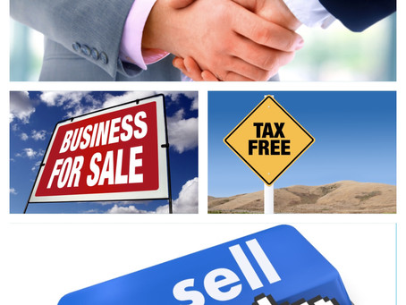 Thinking about selling your business? 4 Keys to sell it tax-free