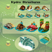 hydro energy structures