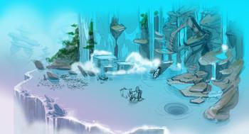 Greenspace Hydro Waterfall World