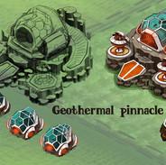 Greenspace geothermal pinnacle