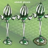 Greenspace pinnacle windmill