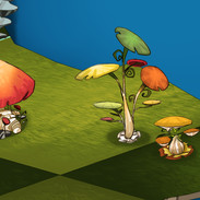 Greenspace decorations - mushrooms