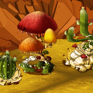 Greenspace decorations - cacti