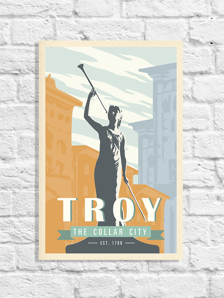 Troy Travel Posters
