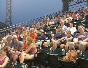 Auch employees atsummer Tigers game event