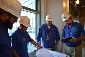 Auch superintendent, project manager, and engineer on jobsite