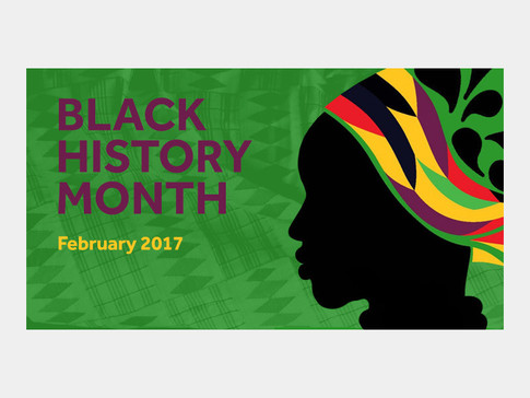 Banner Graphic For Black History Month