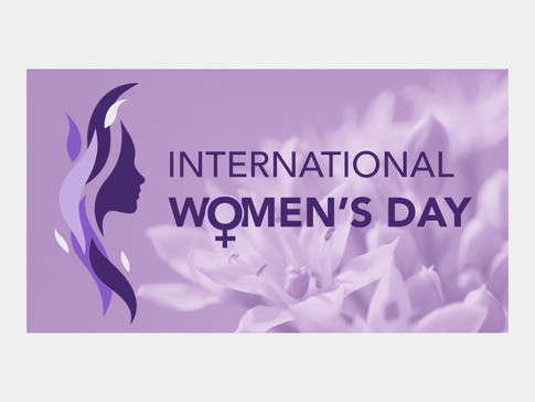 Banner Graphic For International Women's Day