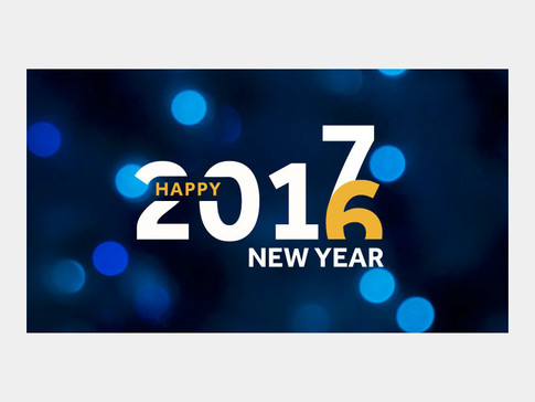 Banner Graphic For The New Year