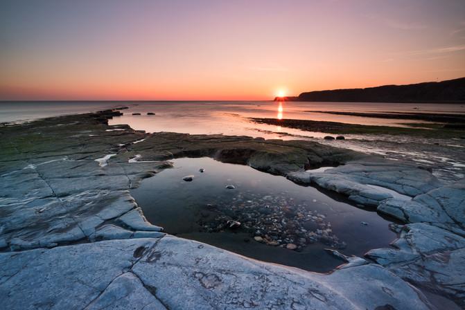 Kimmeridge Bay Sunset