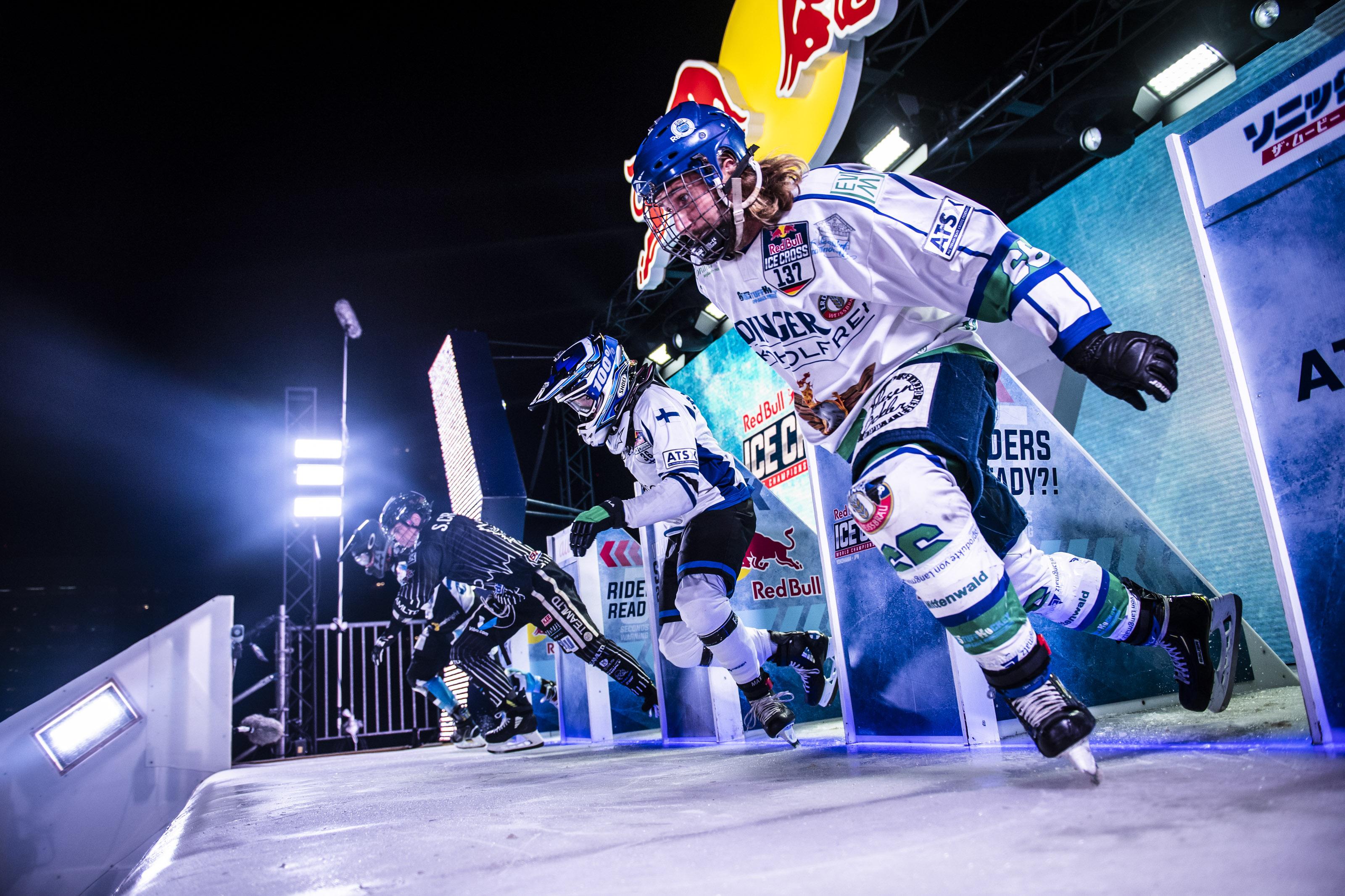 Start-Sprint von Florian
