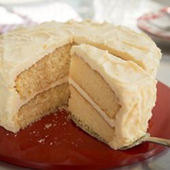 Yellow Cake with Buttercream Icing