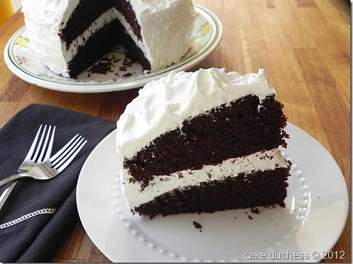 Chocolate Cake with Buttercream Icing