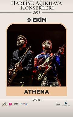 Athena 9 Ekim'de Harbiye Sahnesi'nde Seyircisi ile Buluşuyor!