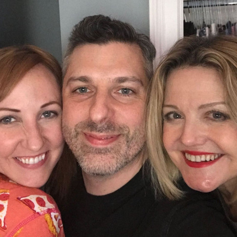"""On the Set of """"Superfriends""""with Kathy Searle and Alison Fraser"""