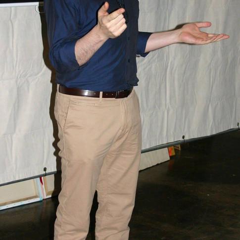 During a Q&A at Atlanta ShortsFest
