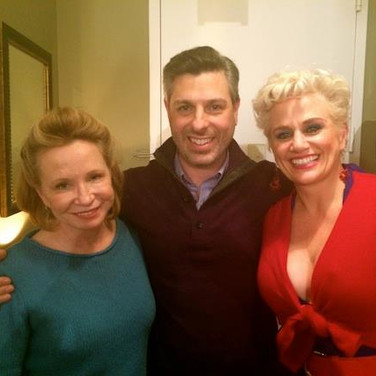 "On the Set of ""He's With Me"" with Debra Jo Rupp and Cady Huffman"