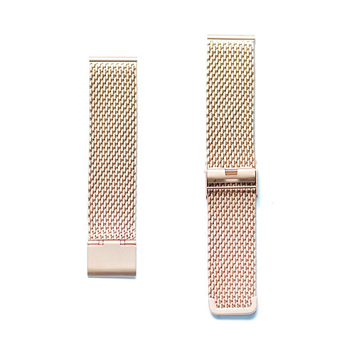 Rosegold Stainless Steel Mesh Strap