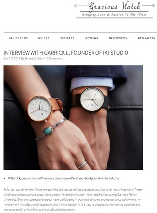 Interview by Gracious Watch