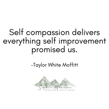 Self compassion delivers everything self improvement promised us.