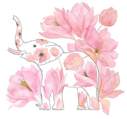 Peony Elephant