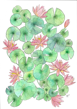 Lily 3 (Size: A3)