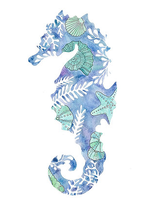 Fossil Seahorse