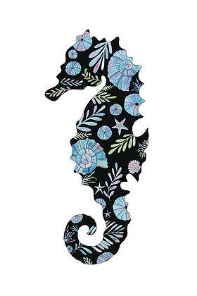Black Seahorse Big