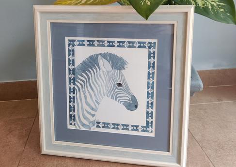 Azulejos Zebra 49x47cm