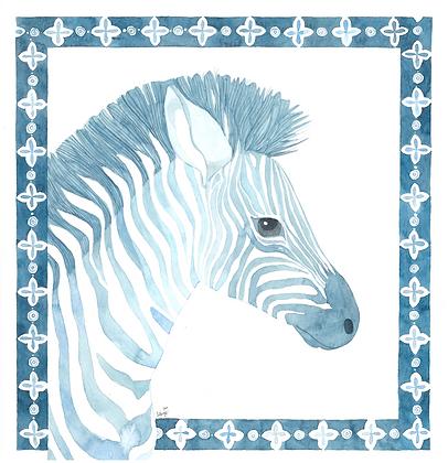 Azulejos Zebra