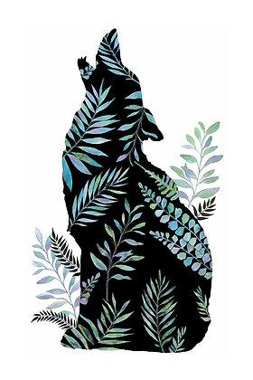 Wolf Silhouette Big
