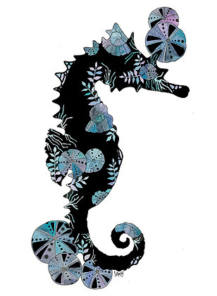 Urchin Seahorse