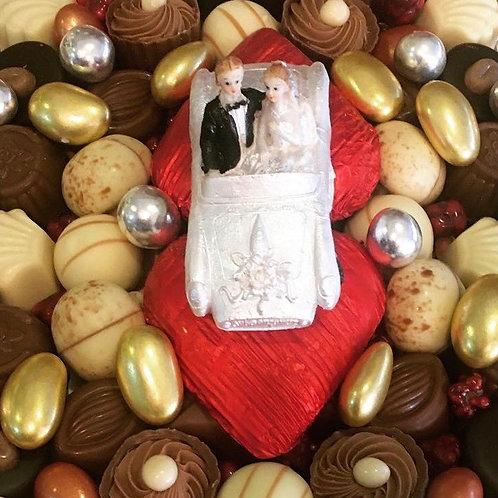 Mutluluğa Yolculuk Söz & Nişan Çikolatası