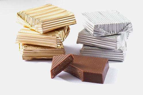 Kare Klasik Yaldızlı Çikolata