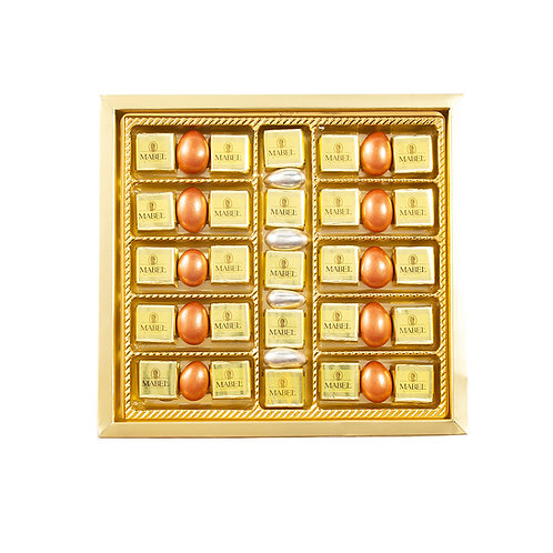 Mabel Cube Chocolate and Dragee Box