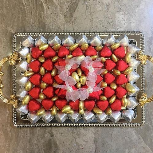 Heart Chocolate Tray