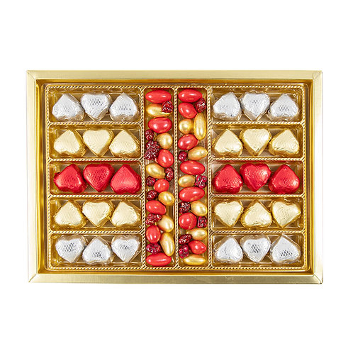 Avignon Gilded Heart & Dragee Big Box