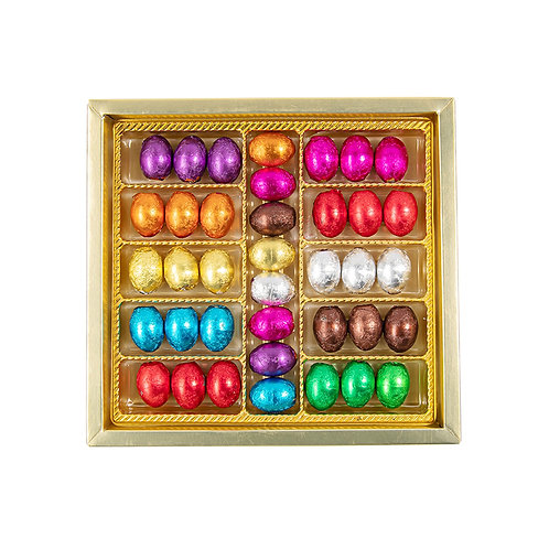 Eggy Shape Milk Chocolates Gift Box