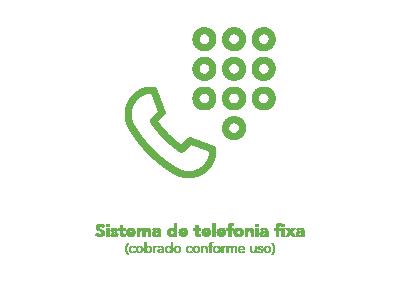 Sistema de telefonia fixa