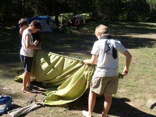 Comencem l'aventura, comencem els campaments!